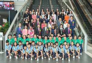 Po Leung Kuk Joint Graduation Ceremony For Affiliated Kindergartens