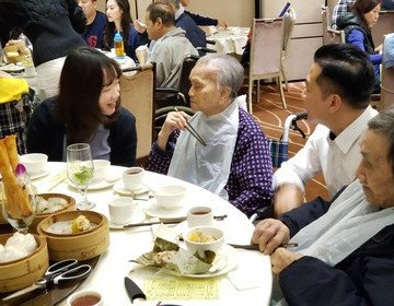 CISI Financial Group - Yum Cha with Elderly